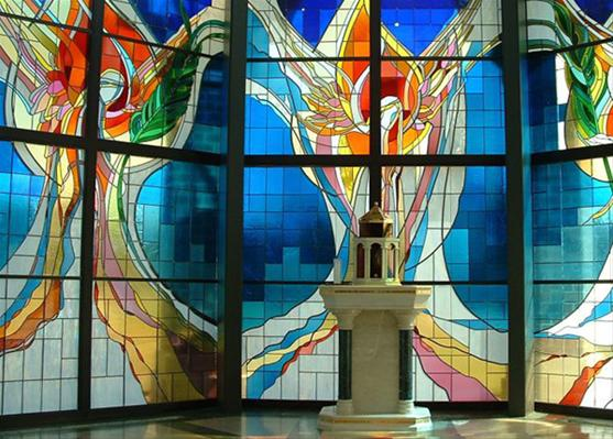 Eucharistic Chapel, Saint Vincent DePaul Catholic Church of Fort Wayne, Indiana