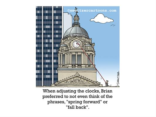 Daylight Savings Time at the Courthouse