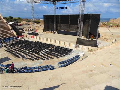 Theater at Caesarea, Israel