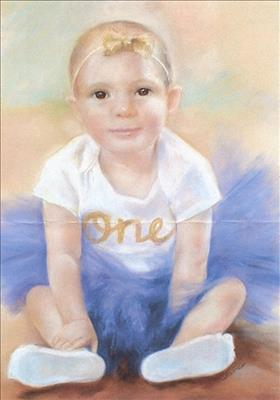 Child's portrait on commission