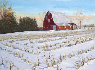 Cynthia Eveland Barn (Clinton Co., IN)